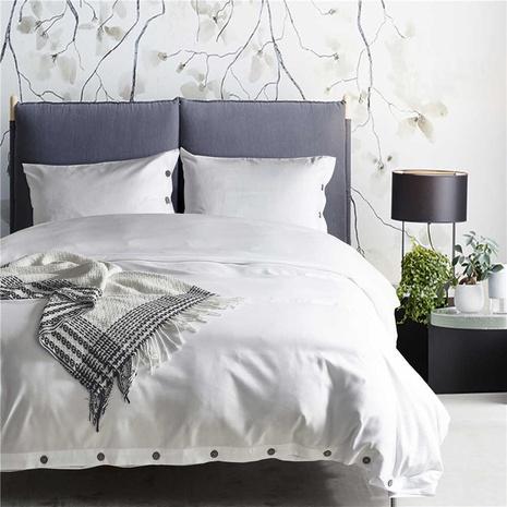 einfarbig einfache Bettbezug Bettwäsche dreiteilige Sets Großhandel Nihaojewelry NHBOM409240's discount tags