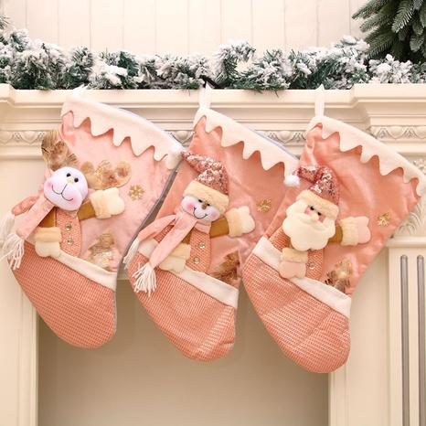 Cartoon New Pink Large Christmas Santa Strumpf Großhandel Nihaojewelry NHMV409368's discount tags