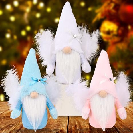 Großhandel Weihnachtsfederflügel gesichtslose Puppe Nihaojewelry NHHB409395's discount tags