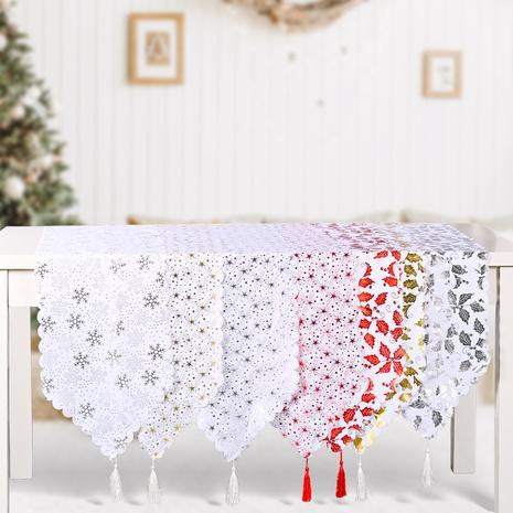Großhandel Weihnachtsdruck Bronzing Tischläufer nihaojewelry NHHB409396's discount tags