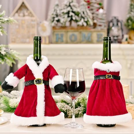 Großhandel Weihnachtsrock Weinflaschenabdeckung Tischdekoration Nihaojewelry NHHB409400's discount tags
