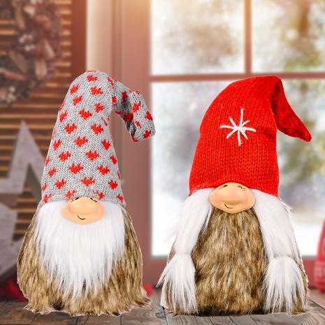 wholesale Rudolph Strickmütze gesichtslose Puppe Weihnachtsdekoration nihaojewelry NHHB409430's discount tags