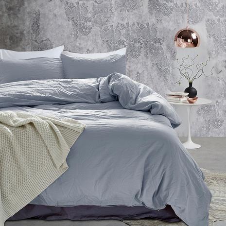einfache einfarbige Bettwäsche dreiteiliges Set Großhandel Nihaojewelry NHBOM409471's discount tags