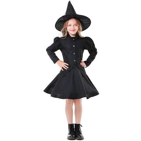 Halloween party child witch black short skirt wholesale Nihaojewelry  NHFE410389's discount tags