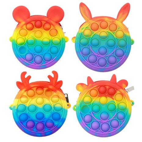 Nueva mini bolsa de descompresión de color arco iris al por mayor Nihaojewelry NHZHI409761's discount tags