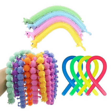 wholesale cartoon unicorn horse caterpillar decompression toy nihaojewelry  NHZHI409766's discount tags