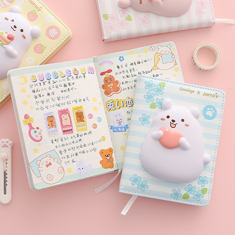 wholesale cute cartoon print decompression notebook nihaojewelry  NHZE409896's discount tags