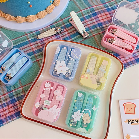 Fashion Cartoon Colorful Nail Clippers Set Wholesale Nihaojewelry NHZE409890's discount tags