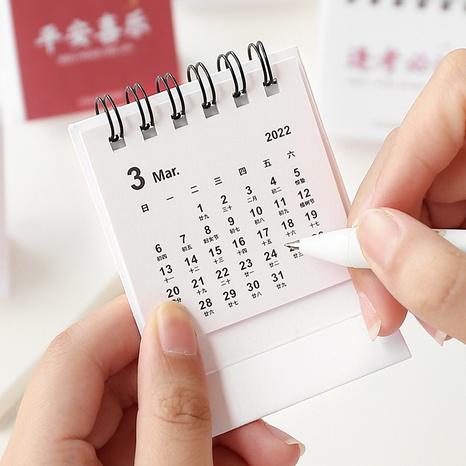 Cute mini desk calendar wholesale Nihaojewelry NHZE409891's discount tags