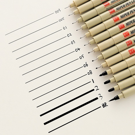 Simple art with black line drawing pen wholesale Nihaojewelry  NHZE409900's discount tags