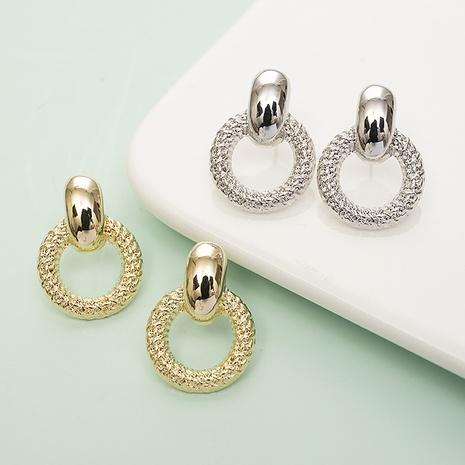 simple geometric shape pattern earrings wholesale Nihaojewelry NHQC412808's discount tags