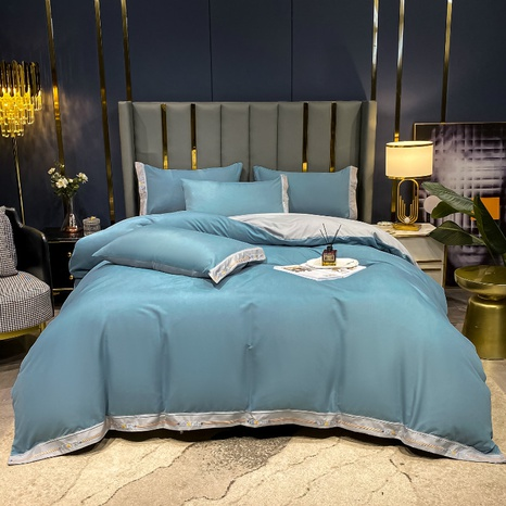 Textured thick brushed bedding set wholesale Nihaojewelry NHMAR411394's discount tags