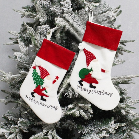 Christmas Children's Gift Stocking Bag Wholesale Nihaojewelry NHGAL411183's discount tags