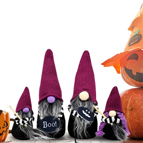 Halloween magic broom dwarf ornaments wholesale Nihaojewelry  NHGAL411208's discount tags