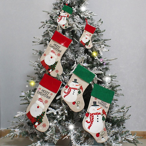 Christmas Tree Pendant Candy Socks Decorations Wholesale Nihaojewelry NHGAL411244's discount tags