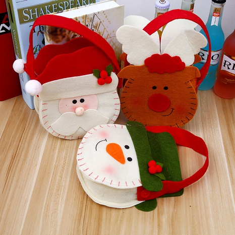 Christmas non-woven tote gift candy bag wholesale Nihaojewelry NHGAL411247's discount tags