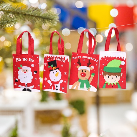 Christmas cartoon candy bags decorations wholesale Nihaojewelry NHGAL411248's discount tags