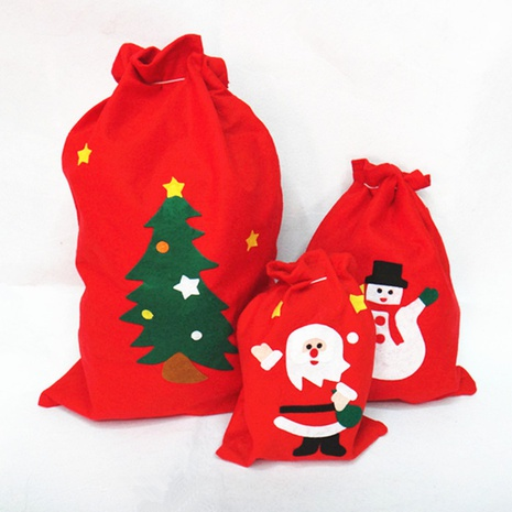 Christmas Santa Claus non-woven gift bag wholesale Nihaojewelry NHGAL411250's discount tags