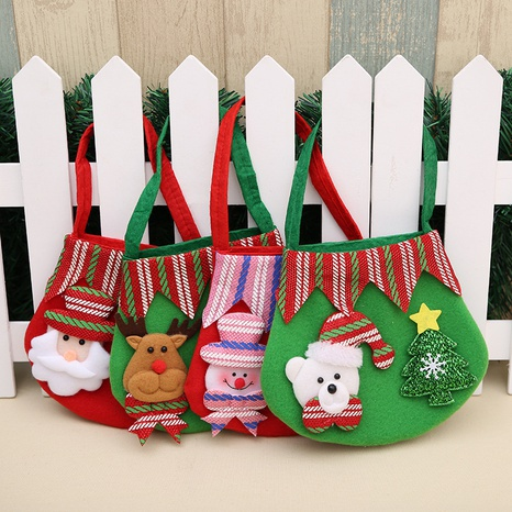 Christmas Gift Candy Bag Decoration Party Supplies Wholesale Nihaojewelry NHGAL411256's discount tags