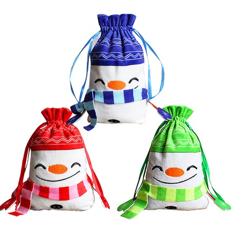 Christmas Drawstring Candy Apple Bag Christmas Tree Ornaments Wholesale Nihaojewelry NHGAL411259's discount tags