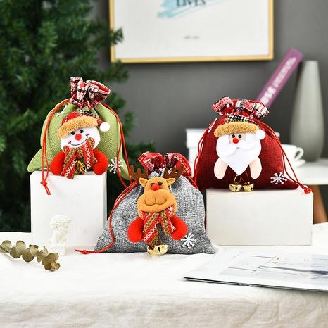 Muñeca tridimensional de Navidad Bolsa de dulces al por mayor Nihaojewelry NHGAL411261's discount tags