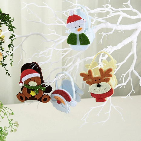 Christmas decorations DIY non-woven small candy bag wholesale Nihaojewelry NHGAL411263's discount tags