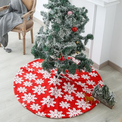 Christmas Jacquard Snowflake Tree Skirt Wholesale Nihaojewelry  NHGAL411265's discount tags