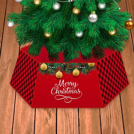 Christmas Tree Skirt Perimeter Border Decoration Wholesale Nihaojewelry NHGAL411266's discount tags