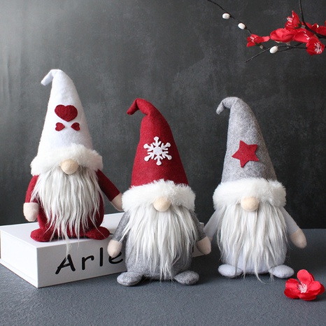 creative hooded faceless doll Christmas decoration ornaments wholesale Nihaojewelry  NHGAL411268's discount tags