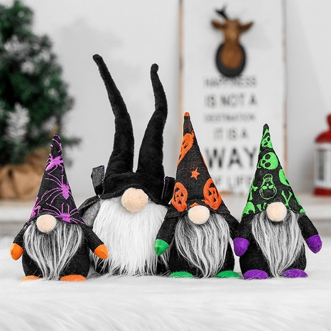 Halloween faceless doll window decoration wholesale Nihaojewelry NHGAL411442's discount tags