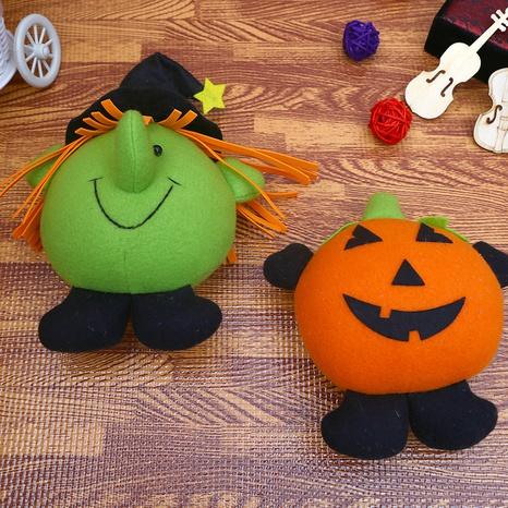 Halloween Pumpkin Head Plush Doll Wholesale Nihaojewelry NHGAL411456's discount tags