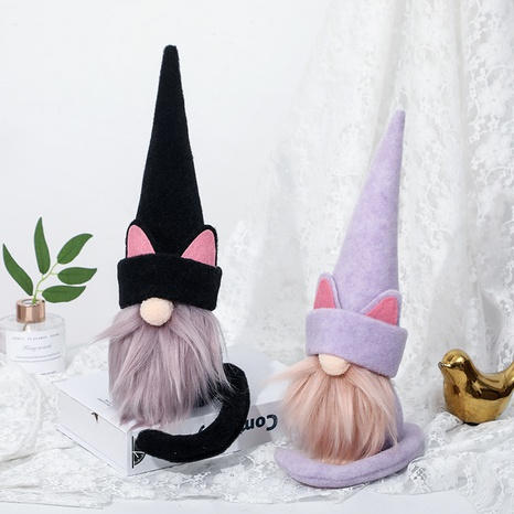 Halloween cat hat faceless doll decorations wholesale Nihaojewelry NHGAL411465's discount tags