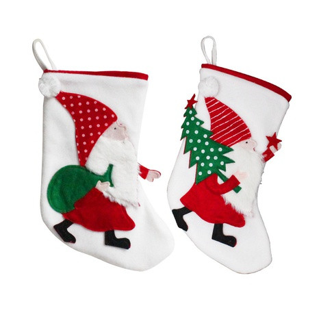 Christmas Decoration Santa Claus Socks Candy Gift Bag Wholesale Nihaojewelry NHGAL411470's discount tags