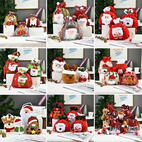 Decoración navideña creativa Muñeca tridimensional Candy Tote Bag Wholesale Nihaojewelry NHGAL411472's discount tags