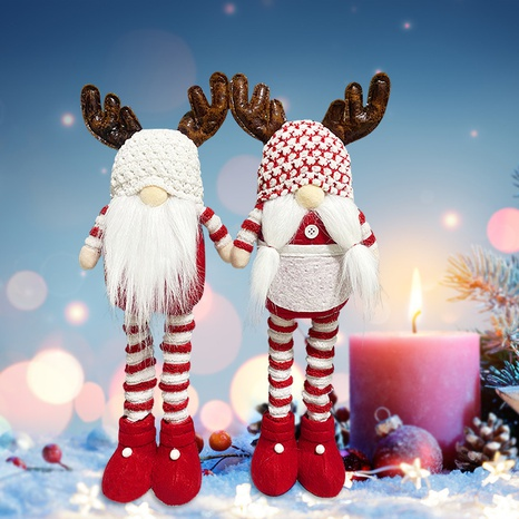 New Faceless Gnome Standing Santa Claus Telescopic Doll Wholesale Nihaojewelry NHGAL411481's discount tags