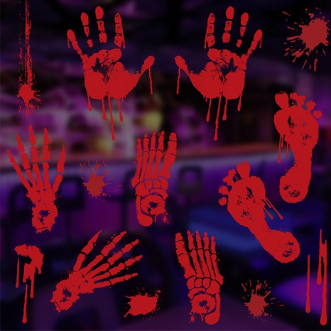 Halloween color window stickers decorations wholesale Nihaojewelry NHGAL411482's discount tags