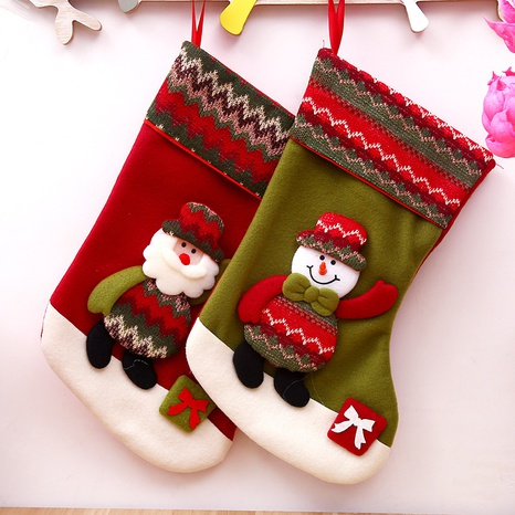 Christmas Ornaments Knitted Socks Gift Bag Wholesale Nihaojewelry  NHGAL411484's discount tags