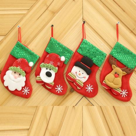 Dibujos animados creativos lentejuelas Navidad calcetines bolsa de dulces al por mayor Nihaojewelry NHGAL411487's discount tags