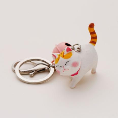 Cartoon neue Harz Katze Schlüsselanhänger Zubehör Großhandel nihaojewelry NHAP411849's discount tags