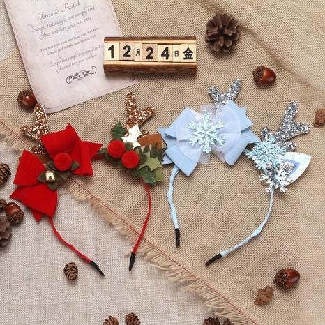 Creative Big Antlers Christmas Headband Wholesale Nihaojewelry  NHGAL412149's discount tags