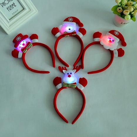 fashion raise a small hand with lights Christmas headband wholesale Nihaojewelry  NHGAL412151's discount tags