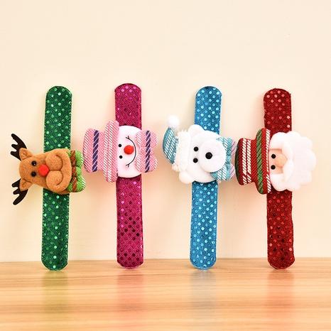 Nuevos adornos navideños Sequin Pat Circle Juguete para niños al por mayor Nihaojewelry NHGAL412153's discount tags