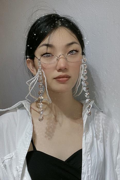 Großhandel Retro-Kristallquaste Perlenkette Sonnenbrillenkette Nihaojewelry NHNT396530's discount tags