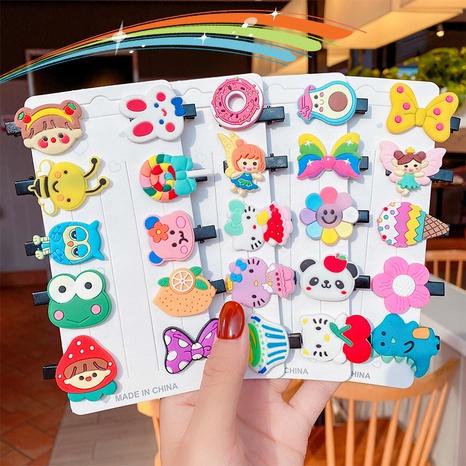 wholesale Koreanische Cartoon geometrische Kinder Haarnadel-Set Nihaojewelry NHNA396964's discount tags