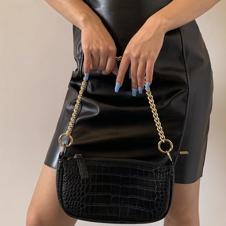 Großhandel schmuck geometrische umhängetasche dicke kette nihaojewelry NHXR397018's discount tags