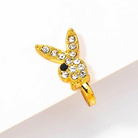 Großhandel Mode Micro Diamant niedlichen Kaninchen Nasenring Nihaojewelry NHDB395590's discount tags