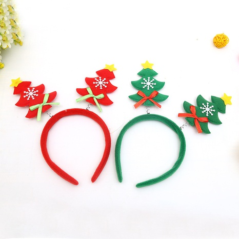Christmas tree spring headband wholesale Nihaojewelry NHGAL413209's discount tags