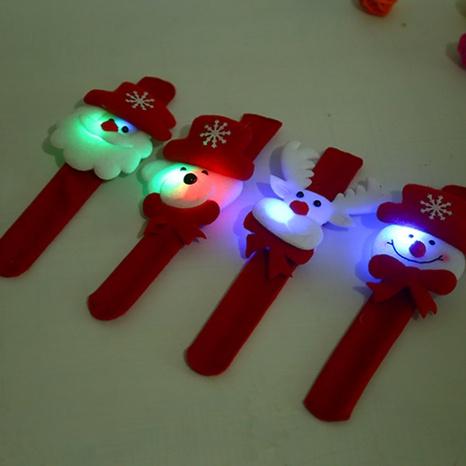 Christmas Elk Luminous Patting Circle Wholesale Nihaojewelry NHGAL413217's discount tags