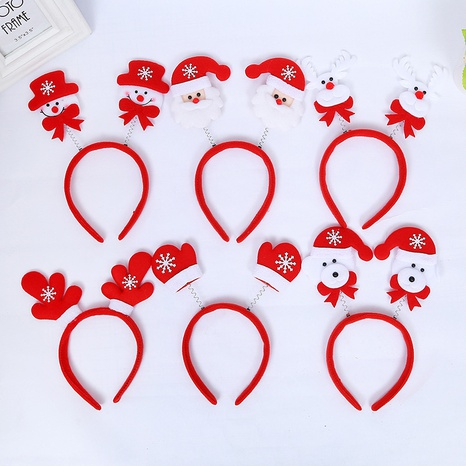 Christmas gifts Snowman headband wholesale Nihaojewelry NHGAL413226's discount tags