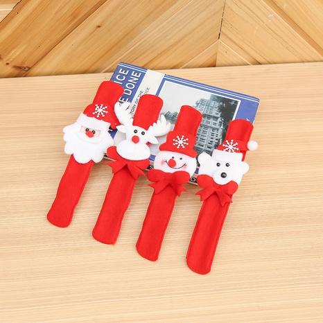 Christmas Santa pat circle decorations wholesale Nihaojewelry NHGAL413234's discount tags